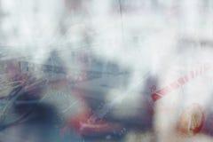 abstrakt bakgrundsmusik Royaltyfri Foto