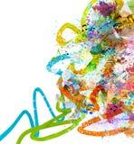 abstrakt bakgrundsmusik Fotografering för Bildbyråer