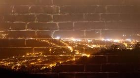 Abstrakt bakgrundsnattsikt en konst Arkivfoton