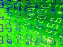 abstrakt bakgrundsnummer Royaltyfria Bilder
