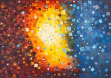 abstrakt bakgrundsoljemålning vektor illustrationer