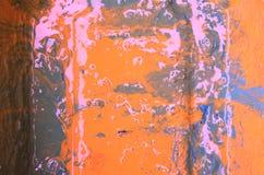 abstrakt bakgrundsorange Royaltyfria Bilder