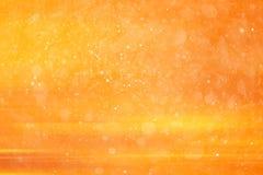 abstrakt bakgrundsorange Royaltyfri Bild