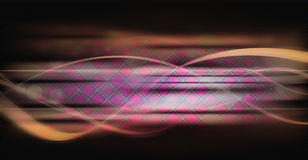 abstrakt bakgrundspinkfyrkanter Royaltyfri Fotografi