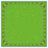 abstrakt bakgrundsramgreen Royaltyfri Foto