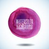 abstrakt bakgrundsredvattenfärg Royaltyfria Foton