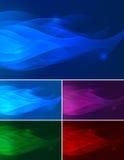 Flamma abstrakt bakgrund Arkivbild