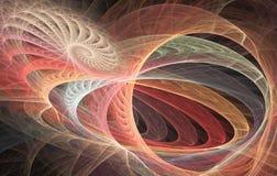 abstrakt bakgrundsspiral Arkivfoton