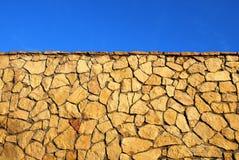 abstrakt bakgrundsstenvägg Royaltyfri Foto