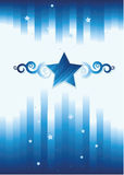 abstrakt bakgrundsstjärna Royaltyfria Foton