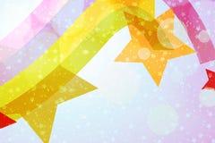 abstrakt bakgrundsstjärnawallpaper Royaltyfri Bild