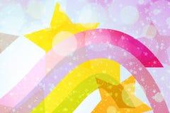 abstrakt bakgrundsstjärnawallpaper Royaltyfria Foton