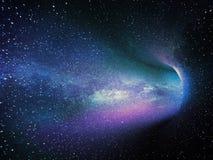 abstrakt bakgrundsstjärnor Royaltyfri Fotografi