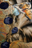 abstrakt bakgrundssulphur Royaltyfri Fotografi