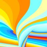 abstrakt bakgrundsswirl också vektor för coreldrawillustration Arkivbild