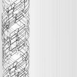 abstrakt bakgrundsteknologi royaltyfri illustrationer