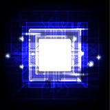 abstrakt bakgrundsteknologi Royaltyfri Bild
