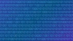 abstrakt bakgrundsteknologi dator för binär kod Vektor dåligt stock illustrationer