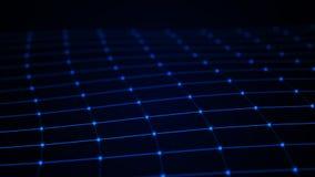 abstrakt bakgrundsteknologi konstgjord intelligens Innovativ forskning f?r vetenskaplig kemi Digital bakgrund f?r stora data fram royaltyfri illustrationer