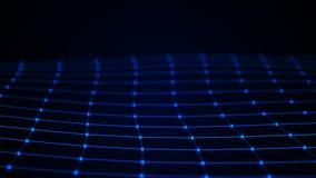 abstrakt bakgrundsteknologi konstgjord intelligens Innovativ forskning f?r vetenskaplig kemi Digital bakgrund f?r stora data fram stock illustrationer