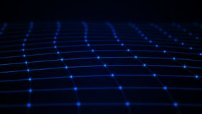 abstrakt bakgrundsteknologi konstgjord intelligens Innovativ forskning f?r vetenskaplig kemi Digital bakgrund f?r stora data fram vektor illustrationer