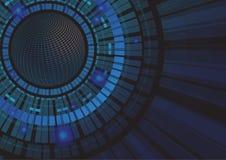 abstrakt bakgrundsteknologivektor Arkivfoto