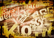 abstrakt bakgrundstext Royaltyfri Fotografi