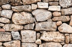 Abstrakt bakgrundstextur av stenen blockerar väggen Royaltyfria Bilder