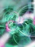 abstrakt bakgrundstryckvågstjärna Arkivbilder
