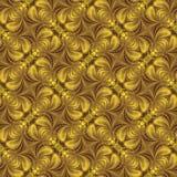 Abstrakt bakgrundsvägg-papper, guling Royaltyfri Bild