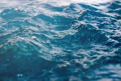 abstrakt bakgrundsvatten Bakgrund för tappningvattenbokeh Royaltyfri Foto