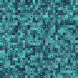 abstrakt bakgrundsvektor Består av geometriska beståndsdelar Beståndsdelarna har en fyrkantig form och en olik färg Arkivbilder