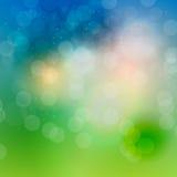 Abstrakt bakgrundsvektor för naturligt ljus Arkivfoto