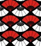 abstrakt bakgrundsventilator japan Arkivbild