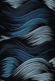 abstrakt bakgrundswave Royaltyfria Bilder