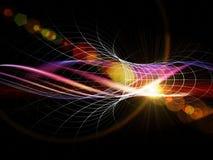 abstrakt bakgrundswave Arkivfoto