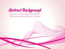 abstrakt bakgrundswave Arkivbild