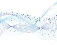 abstrakt bakgrundswave stock illustrationer