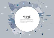 Abstrakt baner för vit för färgfärgstänkborste Arkivbilder