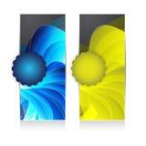 abstrakt banerrengöringsduk Royaltyfria Foton