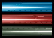 abstrakt banerrengöringsduk Fotografering för Bildbyråer