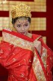 abstrakt barn för bröllop för flicka för bakgrundsbrudklänning royaltyfri fotografi