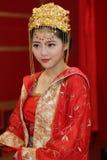 abstrakt barn för bröllop för flicka för bakgrundsbrudklänning arkivbild