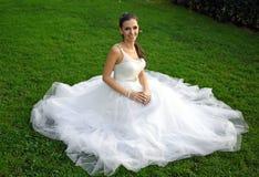 abstrakt barn för bröllop för flicka för bakgrundsbrudklänning Royaltyfria Bilder
