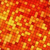 Abstrakt barwiąca kwadratowa piksel mozaika Obrazy Royalty Free
