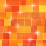 Abstrakt barwiący kwadratowy 3d sześcianów tło Fotografia Stock