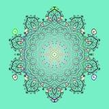 Abstrakt barwiący obrazek zdjęcia stock