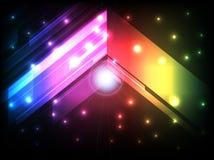 Abstrakt barwi geometrycznego tło Obrazy Stock