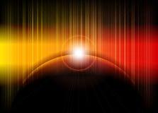 Abstrakt barwi oświetleniowego tło Obrazy Royalty Free