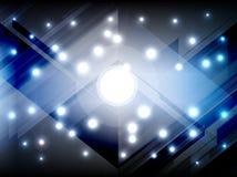 Abstrakt barwi oświetleniowego tło Zdjęcia Stock